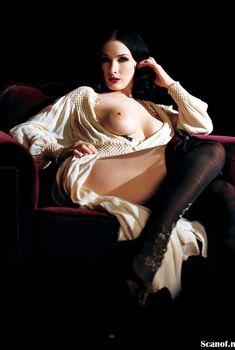 Дита Фон Тиз разделась в журнале Playboy, Февраль 2009