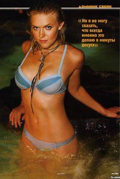 Горячая Доминик Суэйн в бикини снялась для журнала Maxim, Апрель 2007