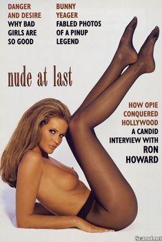 Сексуальная Эль Макферсон показала голую грудь в журнале Playboy, Май 1995