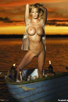 Обнаженная Дженна Джеймсон  в журнале Playboy, Январь 2009