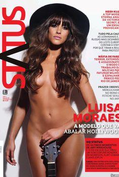 Шикарная Луиза Мораес снялась голой в журнале Revista Status, Сентябрь 2011