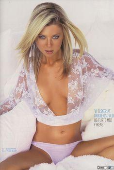 Эротичная Тара Рид  в журнале M!, Январь 2005