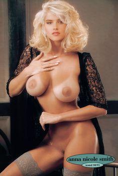 Анна Николь Смит разделась в журнале Playboys Playmate Test, Ноябрь 1998