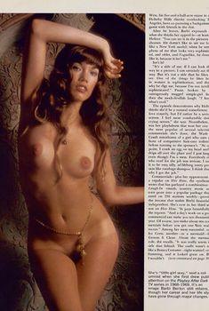 Соблазнительная Барби Бентон снялась обнажённой в журнале Playboy, Декабрь 1973