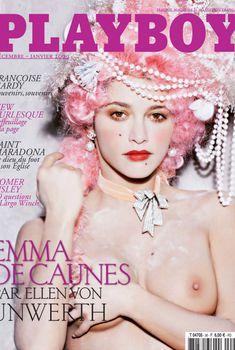 Эмма де Кон  в журнале Playboy, Январь 2009