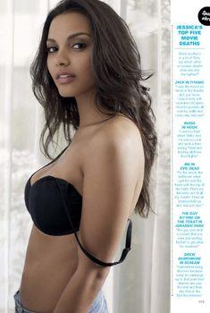 Сексуальная Джессика Лукас на чувственных фото в журнале FHM, Август 2014