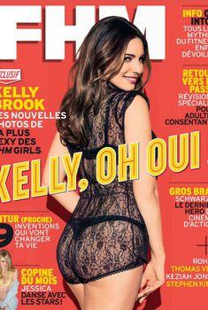 Привлекательная Келли Брук в журнале FHM, Ноябрь 2013