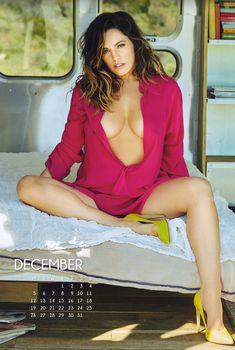 Эротичная Келли Брук для календаря, 2016
