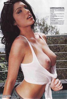 Пышная голая грудь Луиз Клифф в журнале Maxim, Январь 2011
