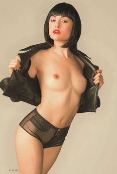 Саша Грей разделась в журнале Playboy, Август 2012