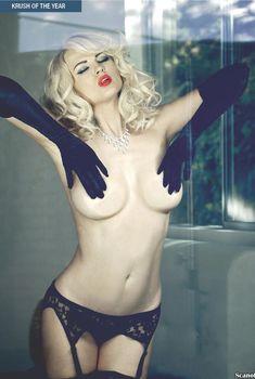 Секси Ирина Воронина в белье для журнала Kandy, Сентябрь 2013