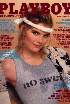 Мэриэл Хемингуэй на страницах журнала Playboy, Апрель 1982