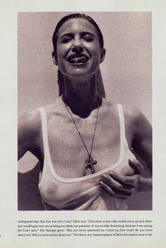 Обнаженная Мими Роджерс  в журнале Playboy, Март 1993