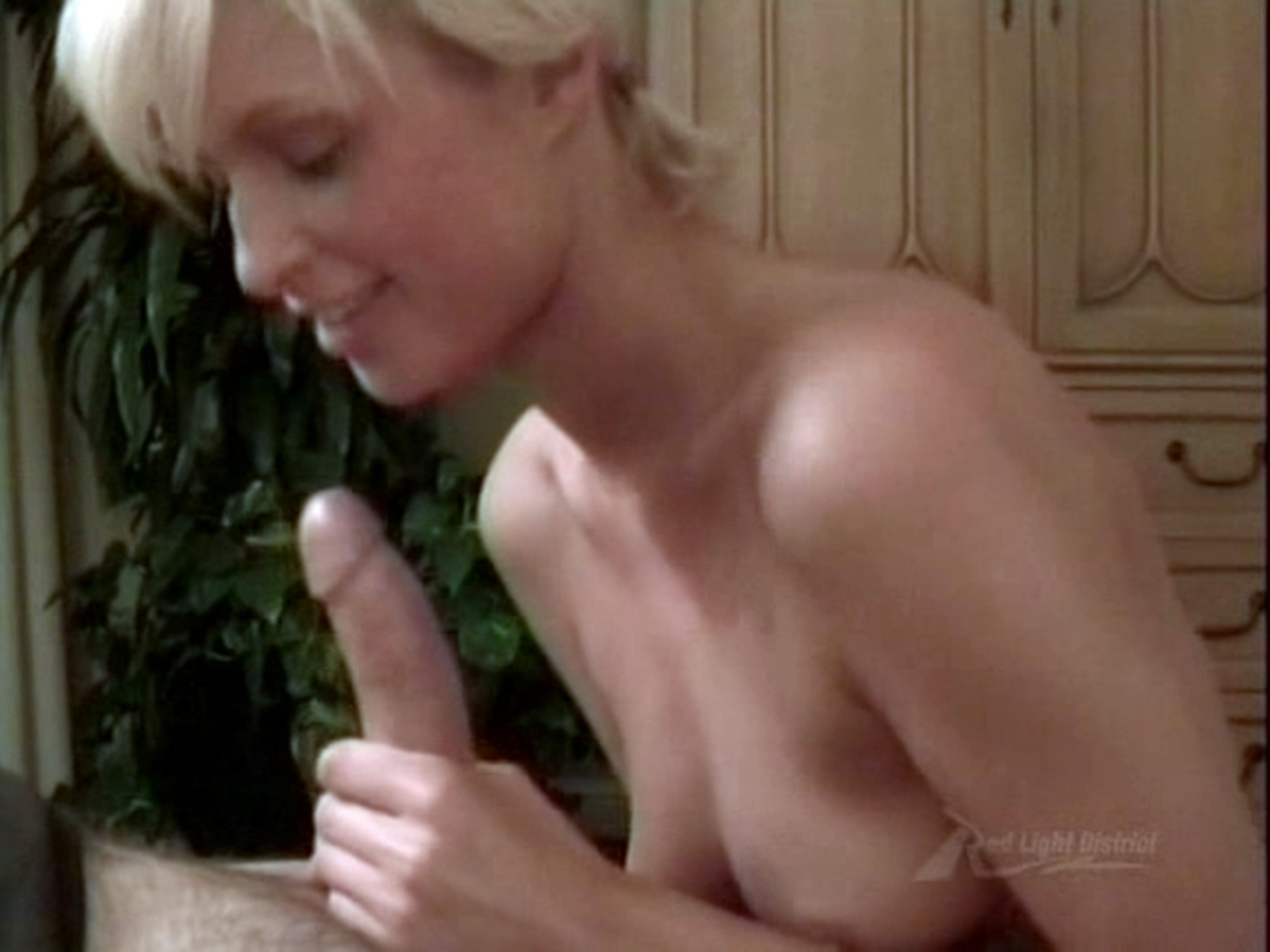 Jenna Jameson Plays With Big Red Dildo