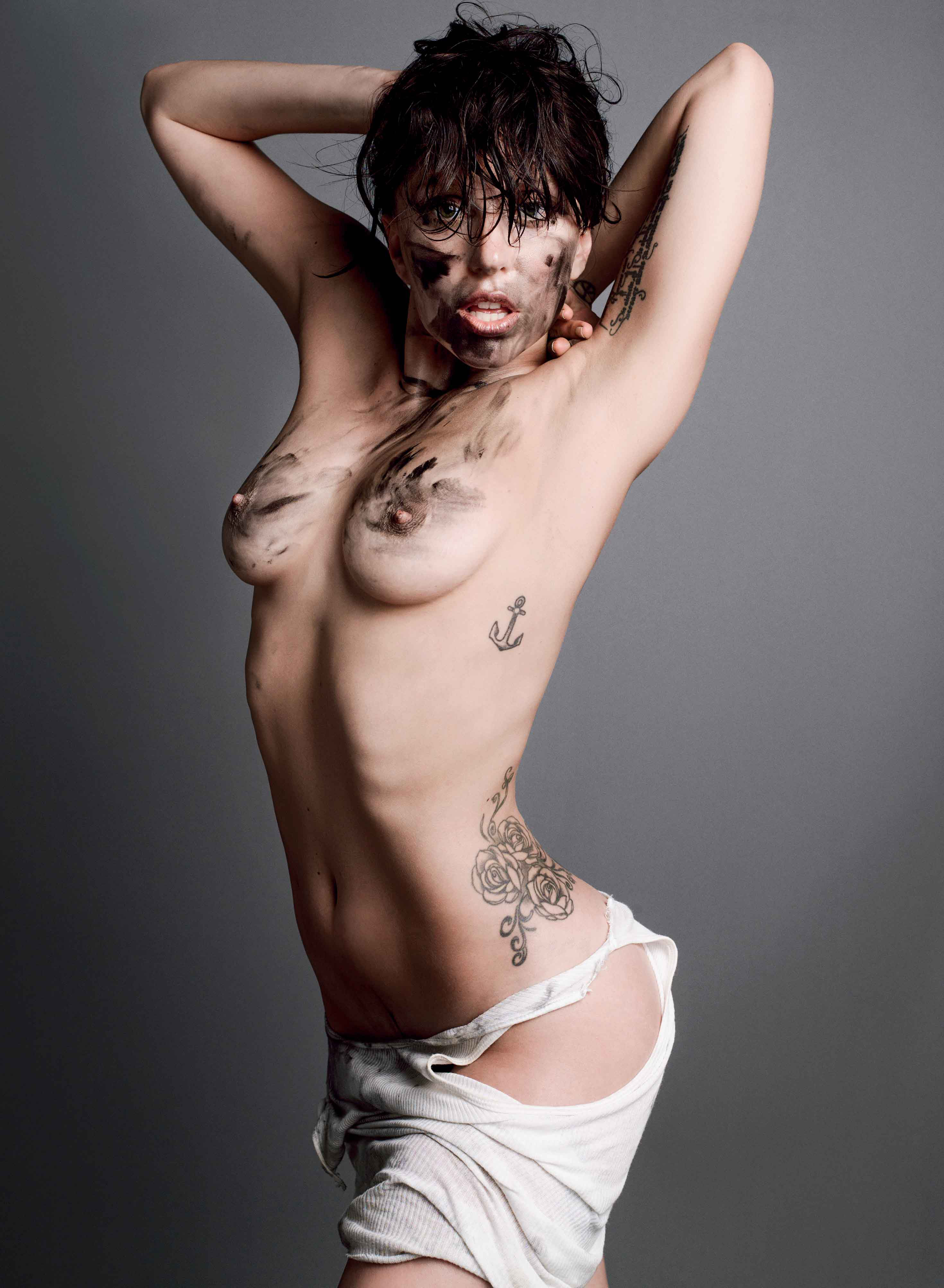 Гага леди фото голая
